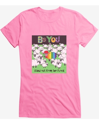 HT Creators: Sarah Dunk Be You Stand Out From The Flock Girls T-Shirt