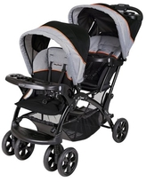 Baby Trend Sit N Stand Double Stroller , Two-Tone Gray