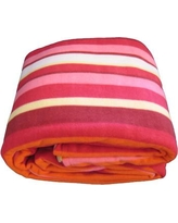 DaDa Bedding Striped Blanket BLX90P6116061 Size: Full