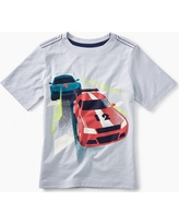 Tea Collection Race Car Graphic Tee