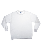 Small White Youth Long Sleeve T-Shirt