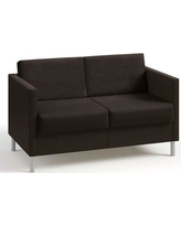 Kimball Boyd Two Seater Lounge Loveseat Wfk742a0 Color Dolce Chocolate