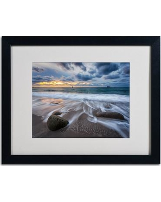 """Trademark Art """"The Song of Water"""" by Mathieu Rivrin Matted Framed Photographic Print RV0013-B1114MF / RV0013-B1620MF Size: 16"""" H x 20"""" W x 0.5"""" D"""