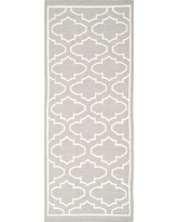 Marseille Dhurrie Accent Rug - Gray / Ivory (2'6 X 7') - Safavieh