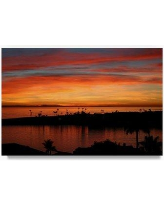"Trademark Fine Art 'Newport 1' Photographic Print on Wrapped Canvas ALI20558-C Size: 22"" H x 32"" W"