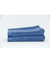 Darby Home Co Fetter Classic 100% Cotton Bath Sheet DRBH4629 Color: Ceramic Blue