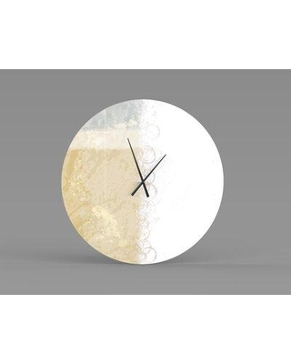 East Urban Home Dow Wall Clock X113369431 Size: Large