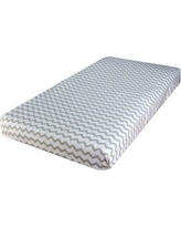 Ely's & Co. Chevron and Polka Dot 2 Piece Fitted Crib Sheet Set ECWPCPCCD2PKP-0040
