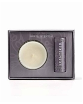 Scentered I Want To Sleep Well 2 Pieces Gift Set, 0.17 oz Balm and 3 oz Candle