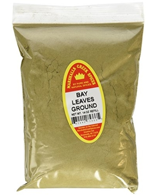 Marshall's Creek Spices X-Large Refill Bay Leaves, Ground, 14 Ounce