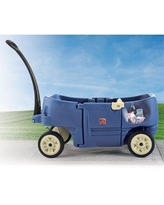"Step2 kids Wagon Ride-On for 2 Plus, Plastic in Blue, Size 39""H X 20""W X 42""D 