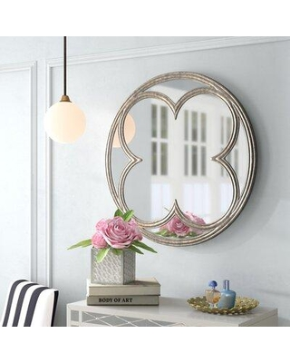 Shop Deals On Willa Arlo Interiors Dhruv Modern Contemporary Accent Mirror Metal In White Size 32 H X 32 W X 1 D Wayfair Wrlo8095 40783818