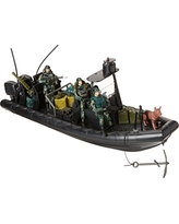 Click N' Play Military Special Operations Combat Dinghy Boat 26 Piece play set With Accessories.