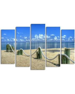 Highland Dunes 'Rope' 5 Piece Photographic Print on Wrapped Canvas Set HIDN4764