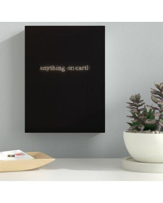 """Ebern Designs 'Anything on Earth' Photographic Print on Canvas BF060741 Size: 48"""" H x 16"""" W x 2"""" D"""