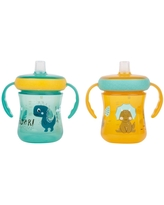 The First Years 2pk Soft Spout Trainer Cup 7oz - Dino