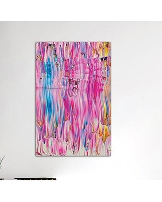 """Brayden Studio Untitled 32 by Mark Lovejoy Painting Print on Wrapped Canvas BRSD2940 Size: 12"""" H x 8"""" W x 0.75"""" D"""