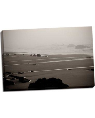 Highland Dunes 'Beach at Seal Rock II' Photographic Print on Wrapped Canvas BF046829