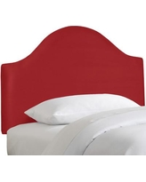 Alcott Hill Premier Upholstered Panel Headboard ALCT2134 Size: Twin, Color: Red