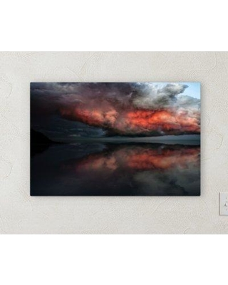 "Ebern Designs 'All Reflections' Photographic Print on Wrapped Canvas BI072055 Size: 30"" H x 40"" W x 2"" D"