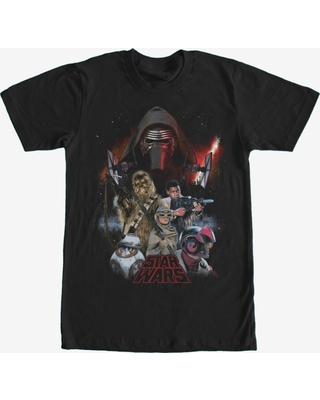 Star Wars Episode VII Force Awakens Characters T-Shirt