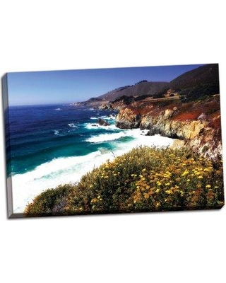 Breakwater Bay 'Garrapata Highlands 2' Photographic Print on Wrapped Canvas CG167205