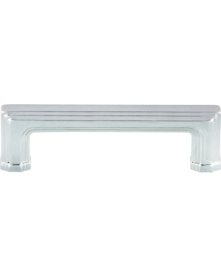 Nostalgic Warehouse 3 in. (76 mm) Bright Chrome Carre Drawer Handle Pull