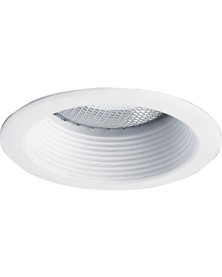 new deals on progress lighting 5 in white recessed shallow baffle trim
