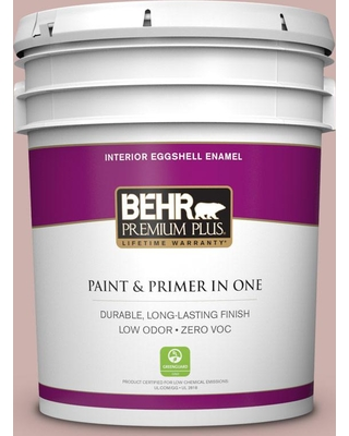 BEHR PREMIUM PLUS 5 gal. #180E-3 Plymouth Notch Eggshell Enamel Low Odor Interior Paint and Primer in One