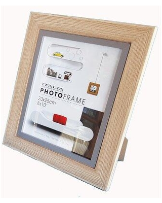 """Millwood Pines Mccluskey Picture Frame W001658878 Color: Light Brown Picture Size: 5"""" x 7"""""""