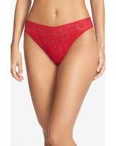 Women's Hanky Panky Original Rise Thong, Size One Size - Red