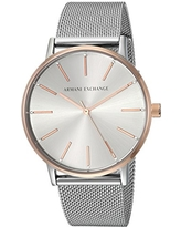 Armani Exchange Women's Dress Silver  Watch AX5537