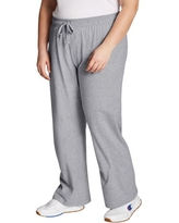 Champion Women's Plus Size French Terry Jersey Pants