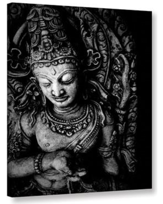 """ArtWall Buddha by Elena Ray Photographic Print on Wrapped Canvas 0ray116a Size: 8"""" H x 10"""" W"""