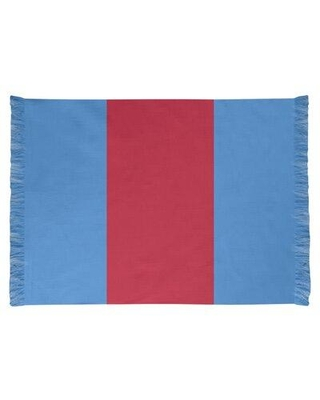 East Urban Home Tennessee Red Football Blue Area Rug FCJK0561 Backing: Yes