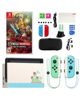 Nintendo Animal Crossing: New Horizons Nintendo Switch with Hyrule Warriors and Accessory Kit