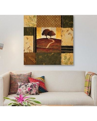 "East Urban Home 'Adagio' Graphic Art Print on Canvas ESUH5337 Size: 12"" H x 12"" W x 1.5"" D"