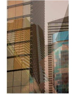 """East Urban Home 'Double Take I' Photographic Print on Wrapped Canvas W000431614 Size: 47"""" H x 30"""" W x 2"""" D"""