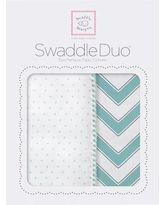 Swaddle Designs Maggie Swaddle Blanket in Sea Crystal SD-484SC