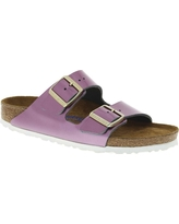 Birkenstock Women's Arizona Soft Footbed Sandal - 37 Narrow - Spectacular Rose