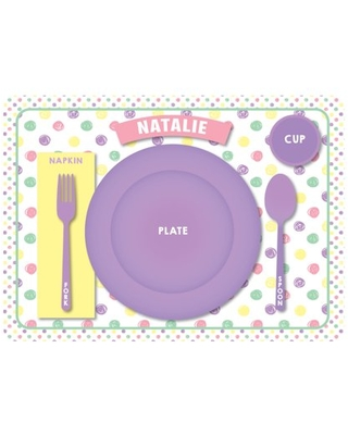 Personalized Place Setting Placemat - Girl