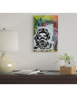"""East Urban Home 'All Geared Up' by Dean Russo Graphic Art Print on Wrapped Canvas EUME4767 Size: 26"""" H x 18"""" W x 1.5"""" D"""