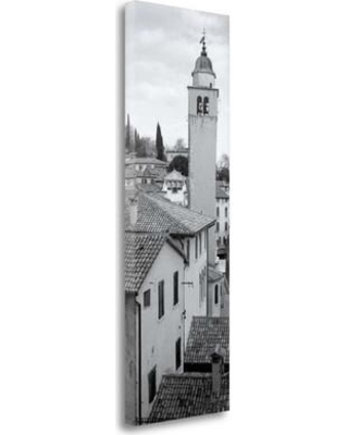 "Tangletown Fine Art 'Asolo Veneto - 1' Photographic Print on Wrapped Canvas ICABITV278-1339c Size: 39"" H x 13"" W"