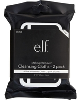e.l.f. Makeup Remover Cleansing Cloths Twin Pack - 2 x 20ct