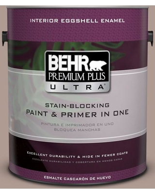 BEHR Premium Plus Ultra 1 gal. #N170-4 Coffee with Cream Eggshell Enamel Interior Paint and Primer in One