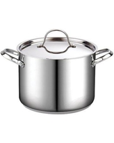 Cooks Standard Classic Stainless Steel Stock Pot with Lid 02519 Capacity: 8 Quarts