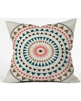 """East Urban Home Rise With The Sun Polyester Throw Pillow EASU6633 Size: 20"""" H x 20"""" W x 6"""" D"""
