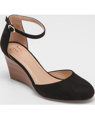 913a9568671 Check Out These Major Deals on Women s Wendi Closed Toe Wedge Pumps ...