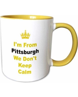 Symple Stuff Maddy Don't Keep Calm Pittsburgh Letters Coffee Mug W000576537