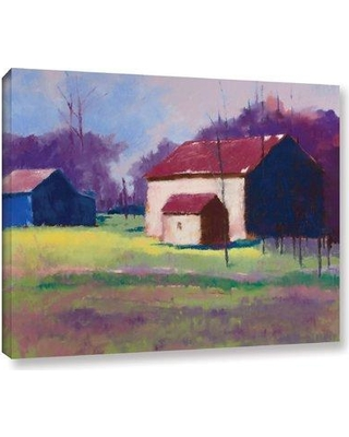 "August Grove 'Early Spring' Print on Wrapped Canvas AGGR2651 Size: 24"" H x 32"" W x 2"" D"